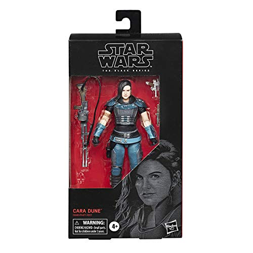 "STAR WARS The Black Series Cara Dune Toy 6"" Scale The Mandalorian Collectible Action Figure, Toys for Kids Ages 4 & Up"