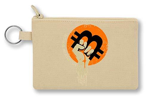 Bitcoin Revolution portemonnee met ritssluiting