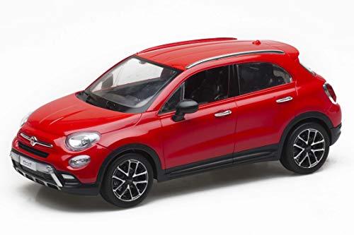 Re.El Toys- Fiat Auto Radiocomandata, Colore Assortito:Bianco/Rosso, 2132