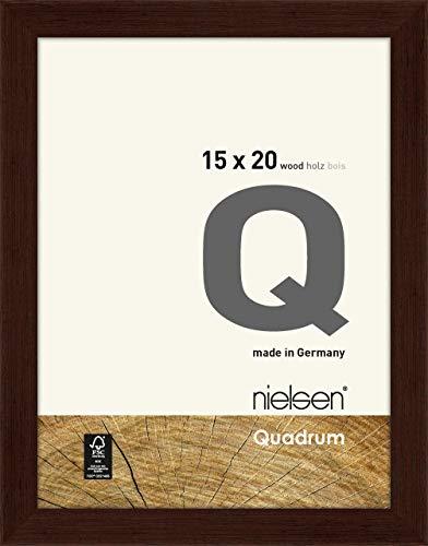 Nielsen Houten fotolijst Quadrum, 15x20 cm, Wengé