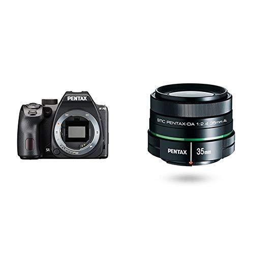 Lowest Prices! Pentax K-70 Weather-Sealed DSLR Camera, Body Only (Black) w/Pentax DA 35mm f/2.4 AL L...