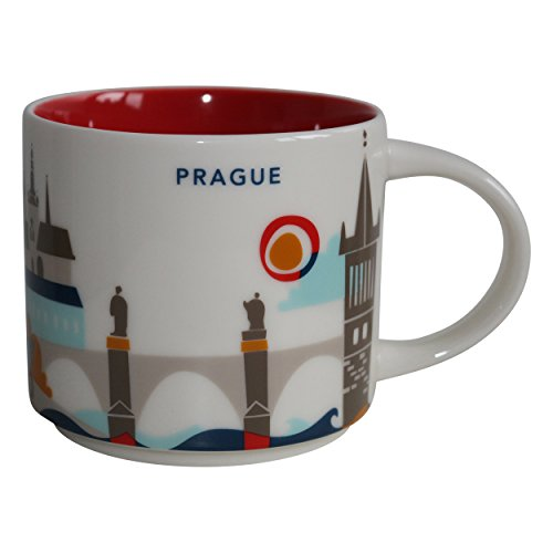 Starbucks City Mug Prag You Are Here Collection Prague Kaffeetasse Coffee Cup