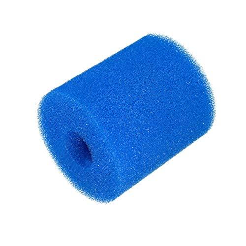 LIGH Esponja de Espuma de Filtro de Piscina Reutilizable Esponja de Espuma de Piscina Lavable Columna Esponja de Espuma de Filtro de Piscina - Azul - 102x90x90mm