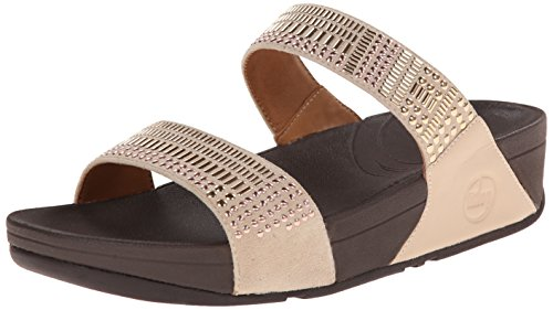 FitFlop™ Aztek Chada Slide Rose Gold 6 UK