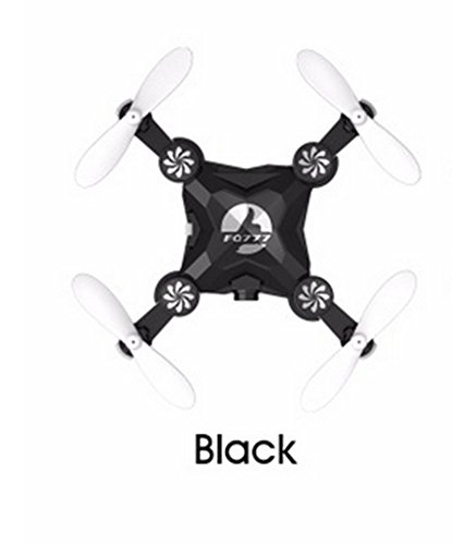 WIFI Drone FQ777 FQ11W 2.4G 4CH 6-Axis Gyro WIFI FPV Mini Pocket Drone Rotatable RC Quadcopter W/ 0.3MP Camera VS Cheerson CX-10 Black