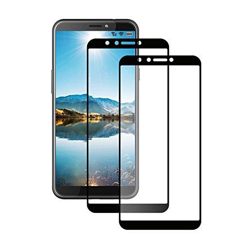 LPCJ. Bildschirmschutzfolie für HTC Desire 12S, gehärtetes Glas, Festigkeitgrad 9H, kristallklar, kratzfest, Bildschirmschutzfolie für HTC Desire 12S Smartphone