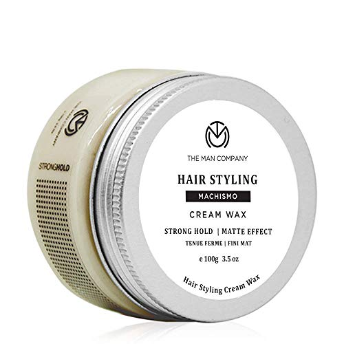 The Man Company Strong Hold Cream Wax - Machismo (100 Gm) | Made in India