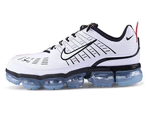 Nike Air Vapormax 360, Zapatillas para Correr Hombre, White White Black Speed Yellow Chile Red Bleached Aqua, 42 EU