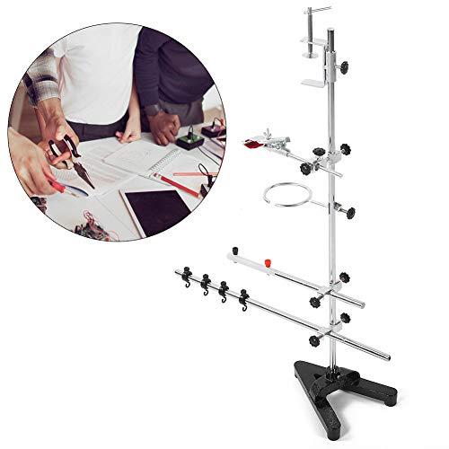 Asixxsix Ringstand Laborunterstützung, Laborstand, Laborausrüstung Chemie Experiment für Physik Chemie