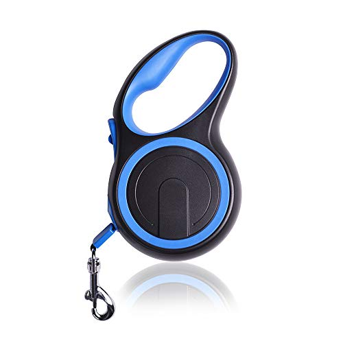 MYYXGS Hundeleine - Einfache EIN-Knopf-Bremse und Verriegelung Einfache Bedienung Komfortabel Verschleißfestigkeit Hohe Zugfestigkeit S (3M / 15KG)