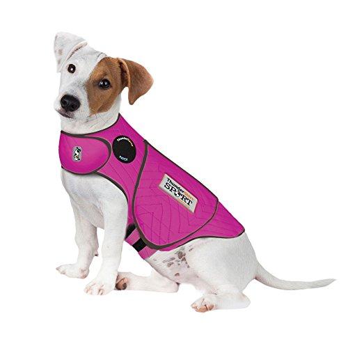 ThunderShirt for Dogs, Small, Fuchsia Sport - Dog Anxiety Vest