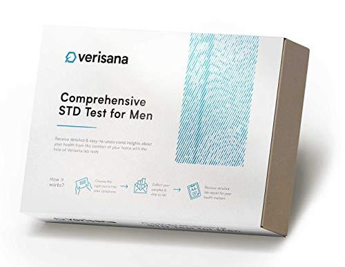 Comprehensive STD Test for Men – Check for HIV, Hepatitis...