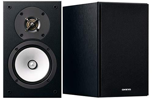 Onkyo Europe Electronics D-165-B 2-Wege Bassreflex-Lautsprecher, N-OMF-Membran, 30-mm-Hochtöner Schwarz
