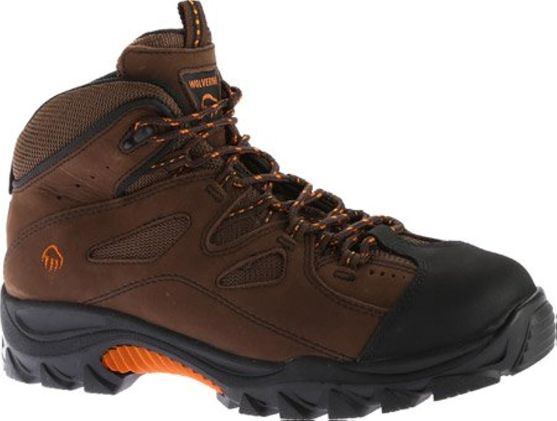 Wolverine Men's Hudson Steel Toe Hiker Dark Brown Size 8.5 EW