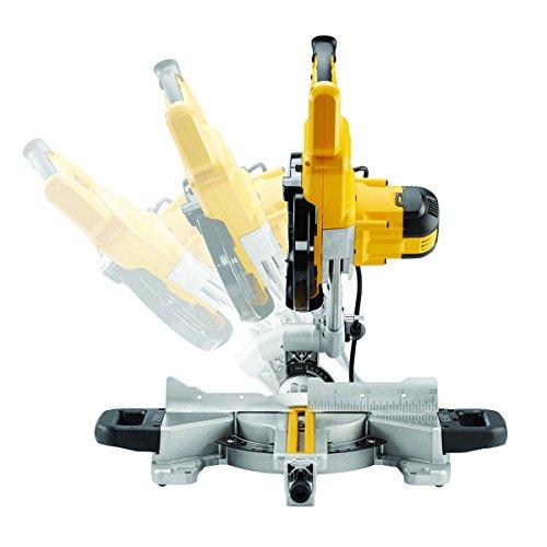 DeWalt 1.300 Watt Paneelsäge (216 mm Sägeblatt-ø, extrem leichte und kompakte Paneelsäge, ideal für die Montage, AirLock kompatibel), DWS773 - 2