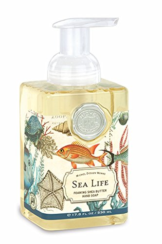 Michel Design Works Schäumendes Hand Seife, 17.8-Ounce, Sea Life