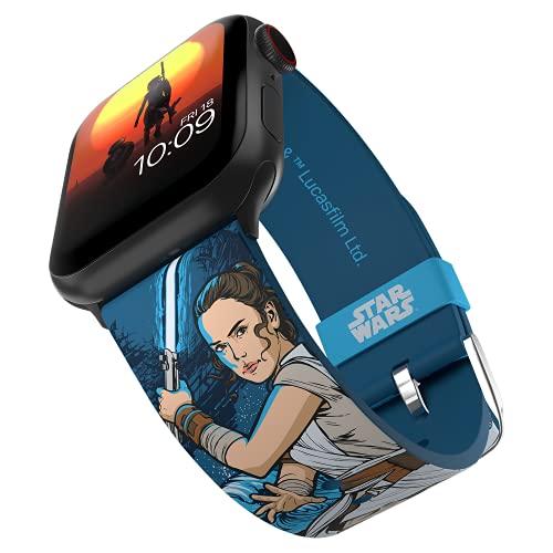 MobyFox Rey Edición SmartVer Banda con licencia oficial, compatible con Apple Ver (no incluido) Se adapta a 38 mm, 40 mm, 42 mm y 44 mm