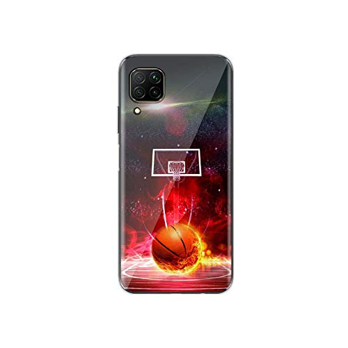 Deportes de baloncesto caliente para Huawei P40 P30 P20 P10 P9 P8 Lite 5G 4G E Pro Plus Lite Mini 2019 2017 Funda estilo 08-para Huawei P20 Lite