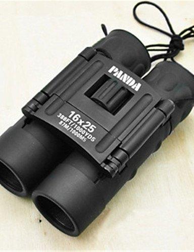 PIGE PANDA 12 25mm mm Jumelles BAK7 résistant aux intempéries 78m / 1000m 30mm centrale de mise au point multi-enduit Usage général Normale Noir