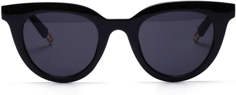 Fuqiuwei Sonnenbrillen Simple And Versatile Retro White Sunglasses Female Face Sunglasses Glasses Cute