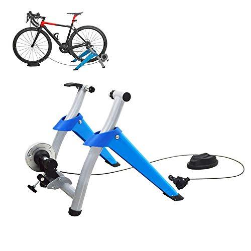 WAWZNN Support D'intérieur pour Vélo, Cyclisme Roller Home Trainer avec réduction magnétique du Bruit du Volant Exercice Stationnaire pour Les Vélos de Route