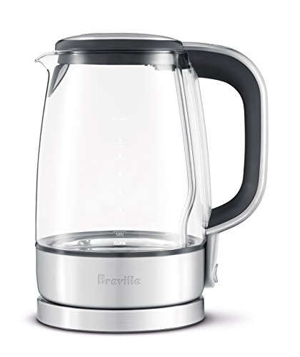 Breville USA RM-BKE595XL The Crystal Clear Electric Kettle, Silver (Certified Refurbished)
