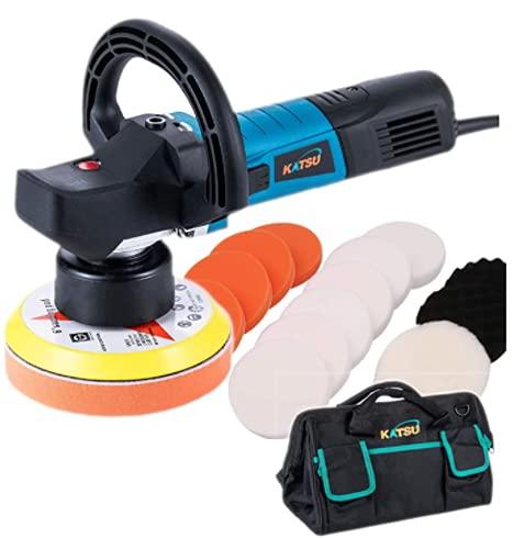 100371S Elektrische polijstmachine met dubbele functie met accessoires