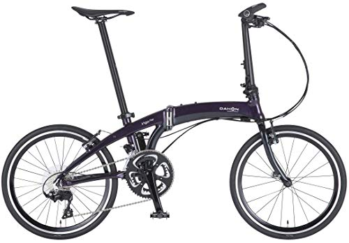 DAHON INTERNATIONAL(ダホン インターナショナル) Vigor Flat フォールディングバイク 20インチ 2020 [外装22段変速 アルミフレーム] EDA024 オーロラ