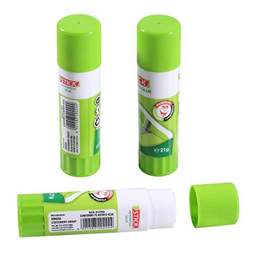 Aokin 3 Pcs 3D Printer Glue Sticks PVP Adhesive Glue for Hot Bed Print ABS PLA PET PETG Filament, Arts and Crafts, etc