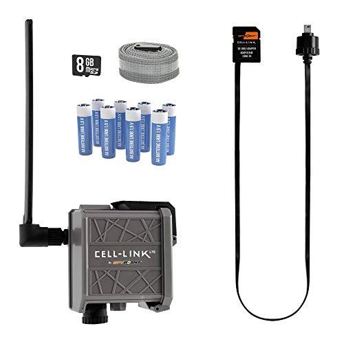 Spypoint Cell-Link Universal-Mobilfunk-Adapter/Datenband für Wildkamera/Sendeinheit SD-Karte Nachrüst-Zubehör Wildüberwachung/Bild-Handyübertragung für Wildkamera
