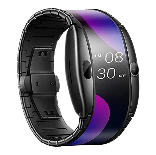Reloj De Teléfono Inteligente Pantalla Flexible Plegable Llamadas por Bluetooth