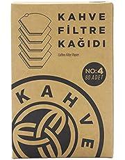 Kahve Dünyası Filtre Kahve Kağıdı No:4 80 Adet