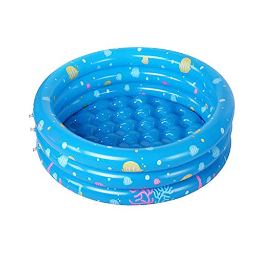 XYBB Piscina Piscinas Desmontables Hinchable Inflable Safety Float Thickened Play Piscina Infanta 130 * 40cm Azul