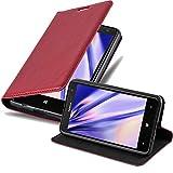 Cadorabo Coque pour Nokia Lumia 625 en Rouge DE Pomme – Housse Protection avec...