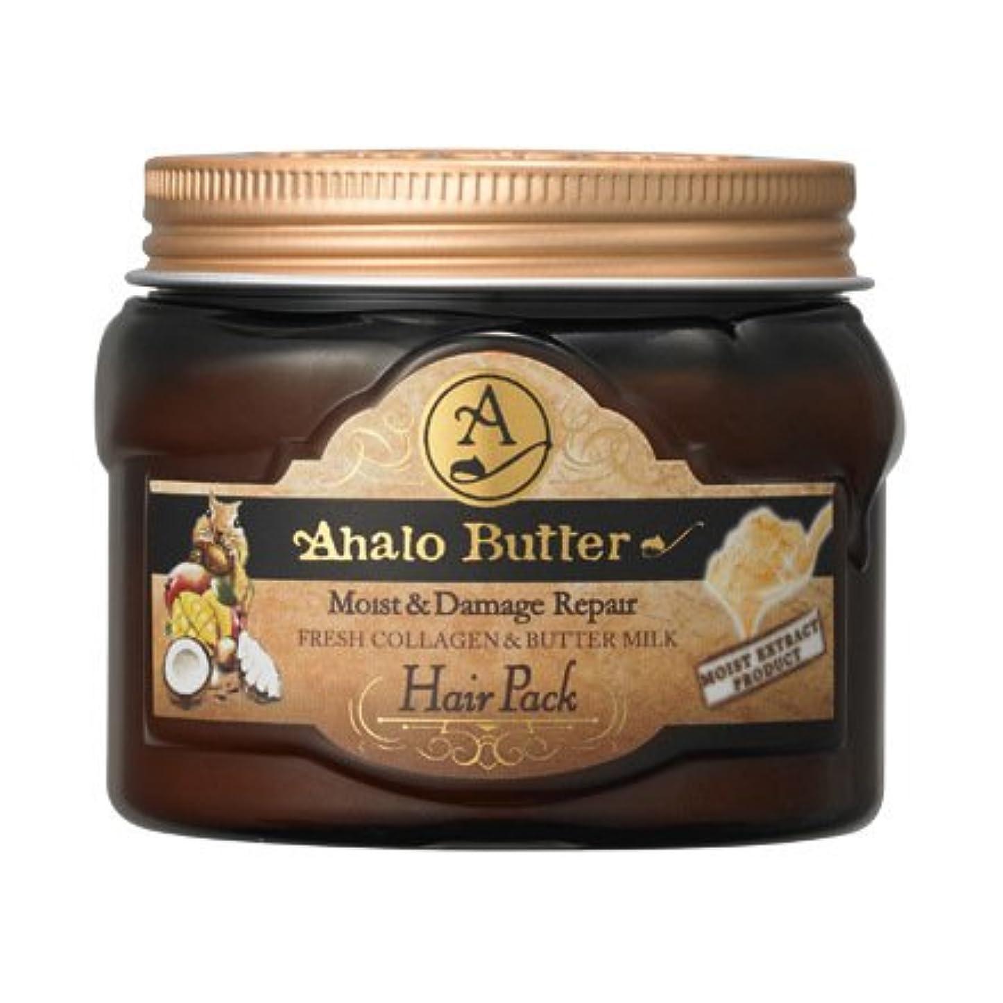 正確に強大な熟したAhalo butter(アハロバター) リッチモイスト 集中ヘアパック 150g