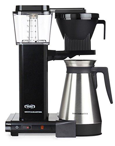 Moccamaster KBGT 741 - Máquina De Café Con Filtro De Enchufe Británico Hight 41 Cm; Width 33 Cm, Depth 17 Cm Negro