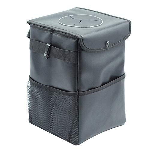 Auto vuilnisbak, Console vuilnisbak, Waterdichte isolatie, Grote capaciteit, Opslagruimte, Eenvoudig te installeren, Geschikt voor keuken, Buiten, Zwart