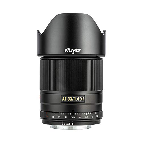 VILTROX 33mm F1.4 XF Auto Focus Fixed Focus Lens Compatible with Fujifilm Fuji X-Mount Camera X-T3 X-T2 X-H1 X20 X-T30 X-T20