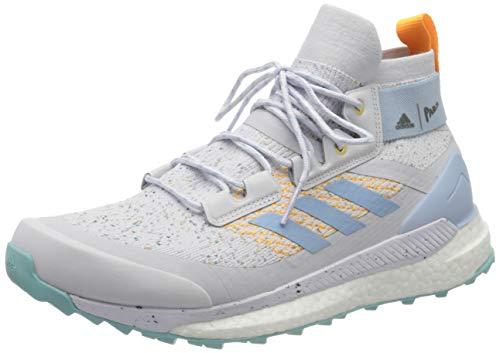adidas Terrex Free Hiker Parley, Zapatillas para Caminar Mujer, Dshgry/Easblu/Reagol, 43 1/3 EU