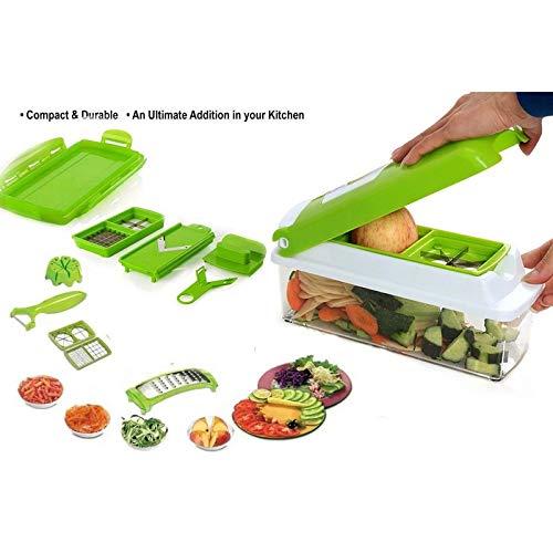 Aaryan Enterprise Plastic Cospo_Nicer_Dicer (Green) Ae-108