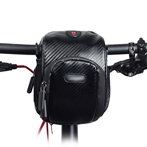 Great Price! CVEUE OS Handlebar Bags 3L Water Resistant Bicycle Handlebar Bag Polyester MTB Road Bik...