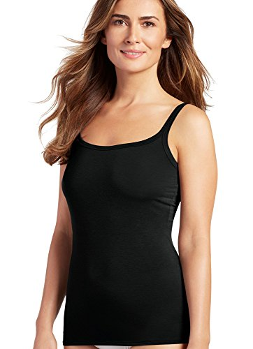 Jockey Women's Elance Supersoft Cami, Black, LG