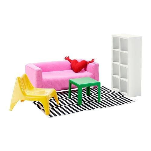 HUSET - Puppenmöbel, Wohnzimmer