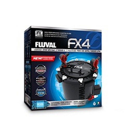 Fluval FX4 External Canister Filter with 2 Free Fluval Treatments (RRP...