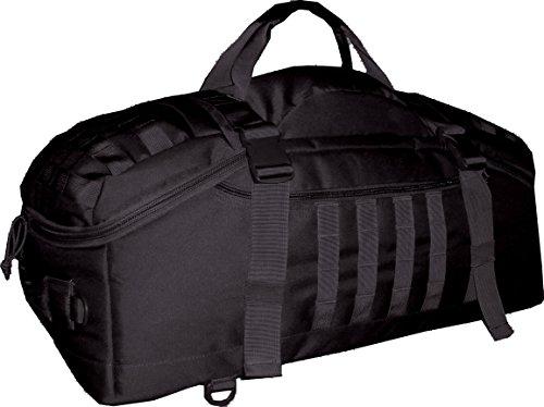 World Famous Sports 45 L Tactical Duffel Bag, Black, 45 L
