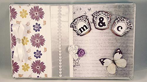 Libro de firmas para boda personalizado - Libro de firmas estilo fashi