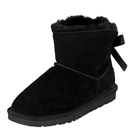 BOnova Oslo schwarz 42 Boots Damen schwarz 42 Boots Damen 42 Boots Damen gefüttert 42 Schuhe Lammfell 42 Schuhe Lammfell schwarz 42 Schneeboots