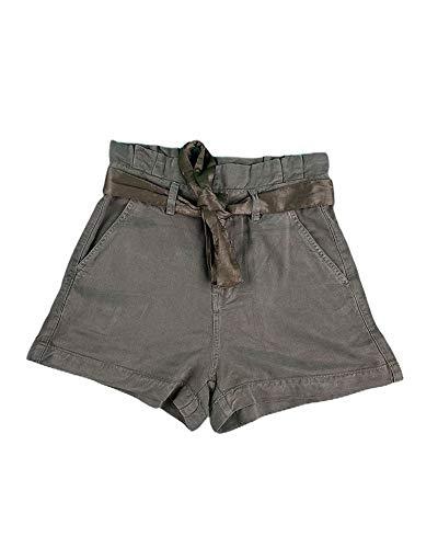 Guess Jayne Short Pantalones Cortos, Verde, XL para Mujer