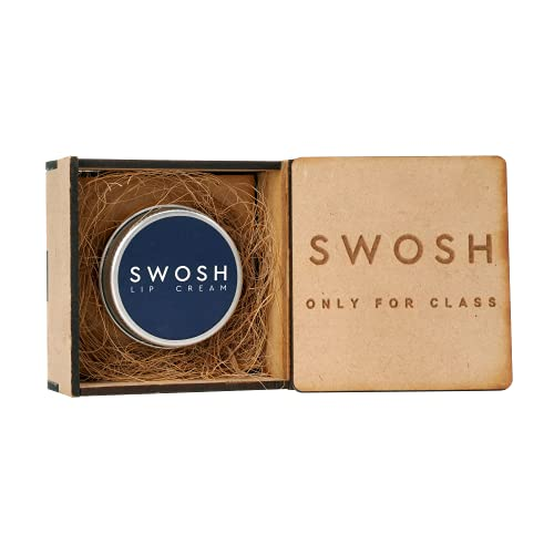 SWOSH Organic Lip Cream For Lightening & Brightening Dark Lips For Men & Women, 15 g with natural extract, clove oil, lavender oil, Lemon Grass oil lip Cream