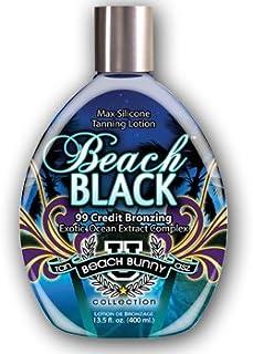 Tan Asz U BEACH BLACK Max Silicone Bronzer Tanning Lotion 13.5 oz.